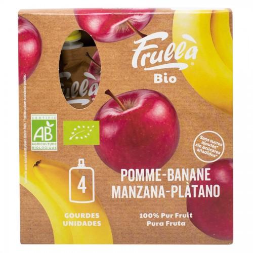 Pure Multipack 4 Doypack Manzana Plátano Bio 4x100g