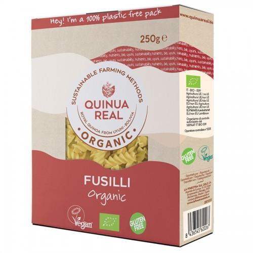 Fusilli de Arroz y de Quinoa Quinua Real Bio 250g