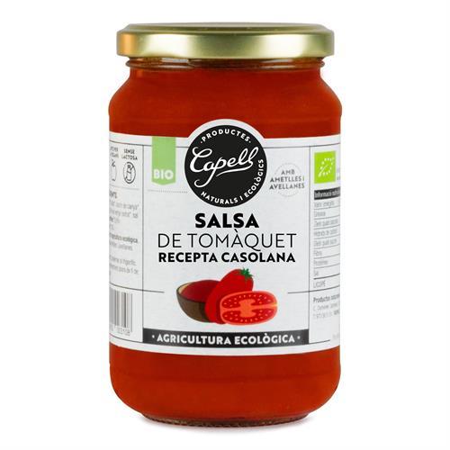 Salsa de Tomate Casero Bio Capell 350g