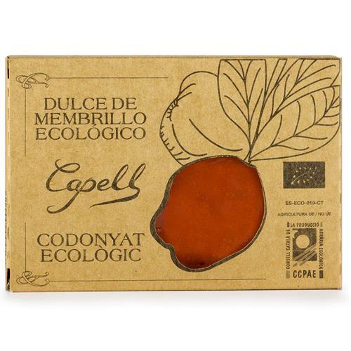 Dulce de Membrillo con Azúcar de Caña Bio Capell 350g
