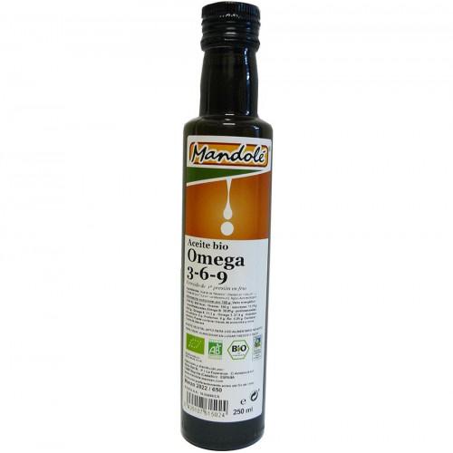 Aceite Mezcla de Semillas Lino y Sésamo Bio 250 ml