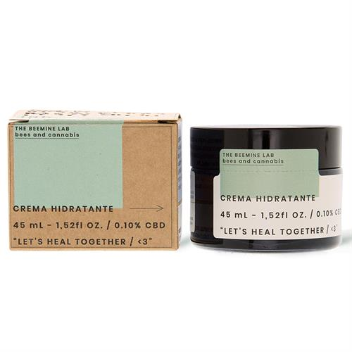 Crema Facial Hidratante con CBD The Bee Mine Lab 45ml
