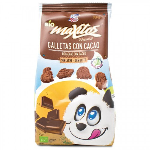 Galletas Maxitos con Cacao Bio 350g