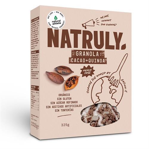 Granola de Cacao y Quinoa Natruly Bio 325g
