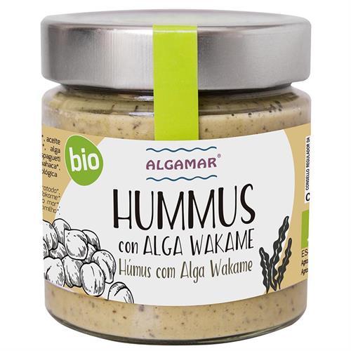Hummus con Alga Wakame Algamar Bio 180g