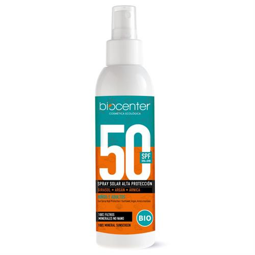 Crema Solar Spray SPF 50 Biocenter Bio 150ml