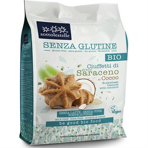 Ciuffetti de Saraceno con Coco Sottolestelle Bio 250g