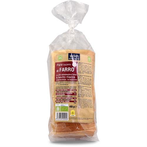 Pan de Molde de Espelta Sottolestelle Bio 400g