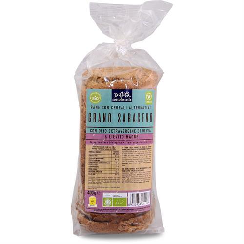 Pan de Molde de Espelta con Sarraceno Sottolestelle Bio 400g