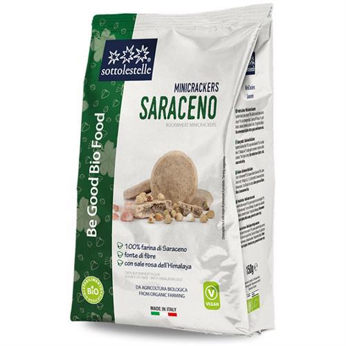 Minicrackers de Sarraceno Sottolestelle Bio 150g