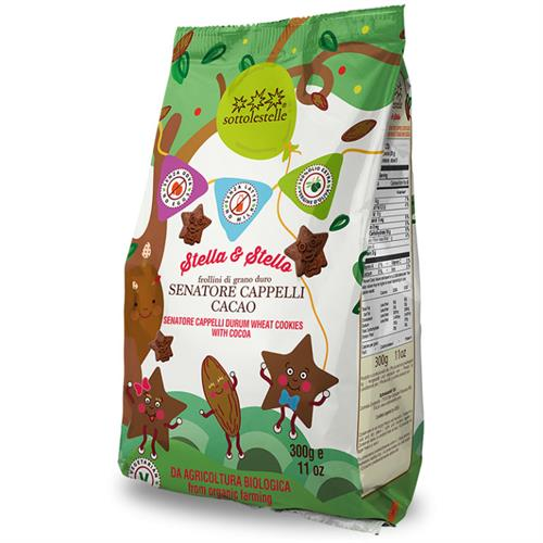 Galletas Infantiles Capelli y Cacao Stella & Stello Sottolestelle Bio 300g
