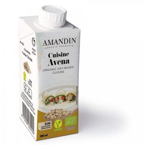 Cuisine de Avena Bio Amandin 200 ml