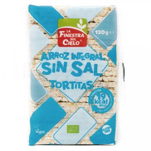 Soffiete de Arroz Sin Sal Bio 130g
