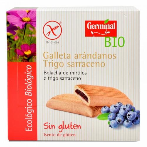 Galletas de Trigo Sarraceno y Arandanos sin gluten Bio 200g