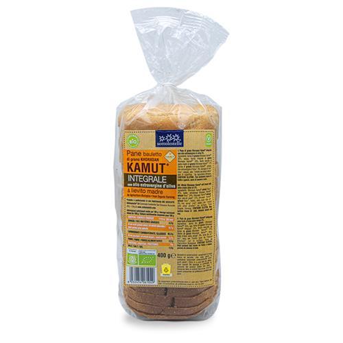 Pan de Molde de Trigo Khorasan Kamut Integral Sottolestelle Bio 400g