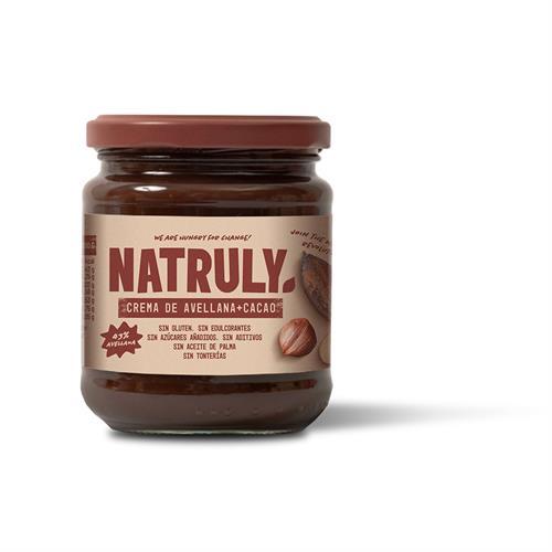 Crema de Avellanas con Cacao Natruly 300g