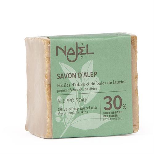 Jabón de Alepo con Aceite de Laurel 30% Najel 185g