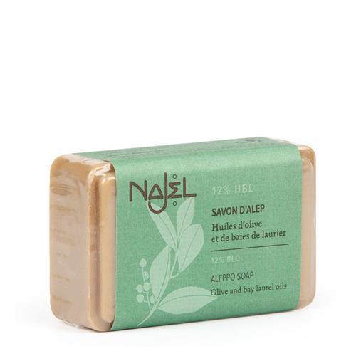 Jabón de Alepo con Aceite de Laurel 12% Najel 100g