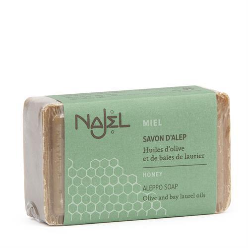 Jabón de Alepo con Miel Najel 100g