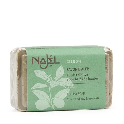 Jabón de Alepo con Limón Najel 100g