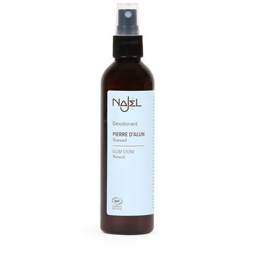 Desodorante de Alumbre en Spray para Axilas Najel 125ml