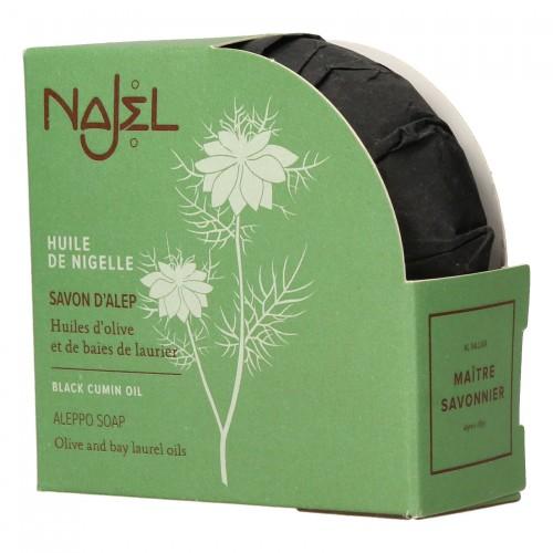 Jabón de Alepo con Aceite de Comino Negro Najel 100g