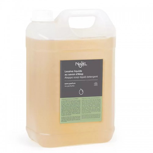 Detergente Lavadora de Alepo sin Perfume Najel Bio 5L