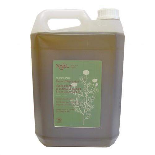 Jabón de Alepo Líquido con Agua Floral de Manzanilla Najel Bio 5L