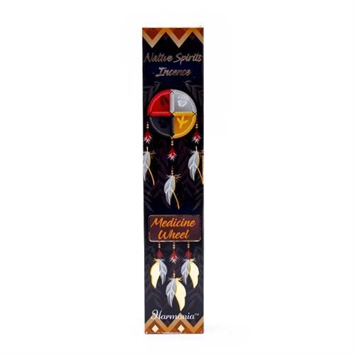 Incienso Native Spirits Rueda de la Medicina Almizcle 15g