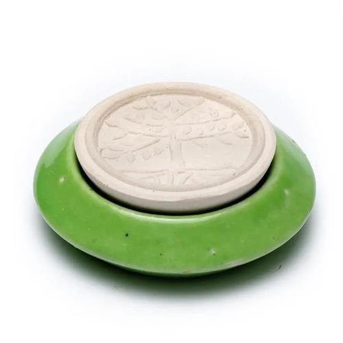 Difusor con Piedra Aromática Árbol de la Vida Verde 7,5cm