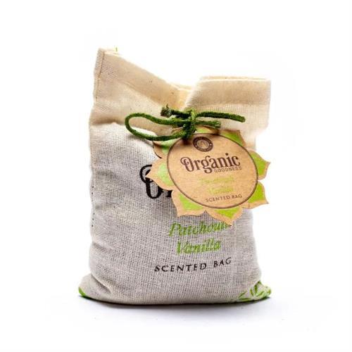 Bolsita Perfumada de Vainilla y Pachulí Organic Goodness 150g