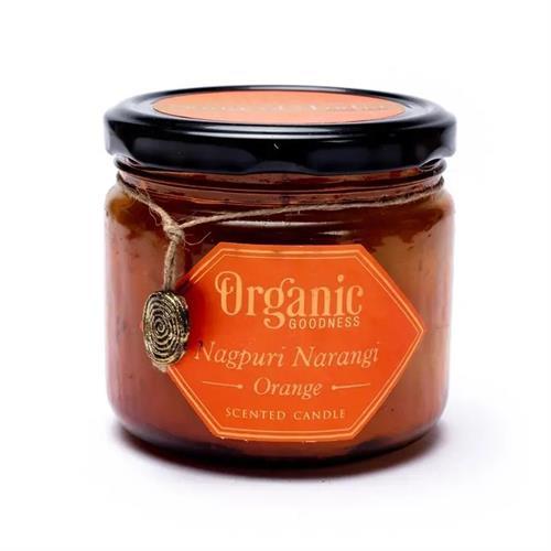 Vela de Cera de Soja Naranja Organic Goodness 200g
