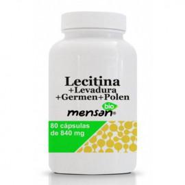 Bio Lecitina + Levadura + Germen + Polen cápsulas