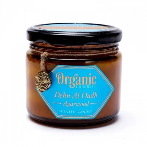 Vela de Cera de Soja Madera de Agar Organic Goodness 200g