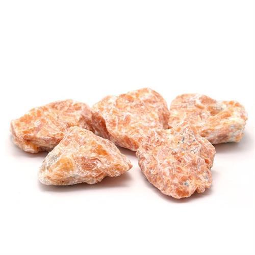 Calcita Naranja en Bruto Calidad A 1ud 3-6cm