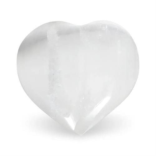 Corazón de Selenita Blanca 4,5x4cm
