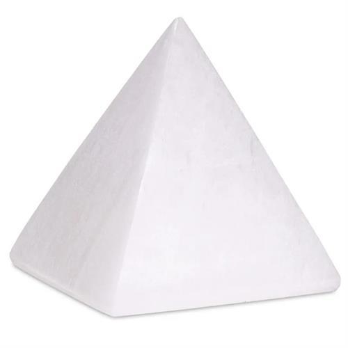 Pirámide de Selenita 4x4cm