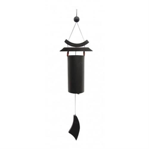 Carillón de Viento Zen Negro 58cm