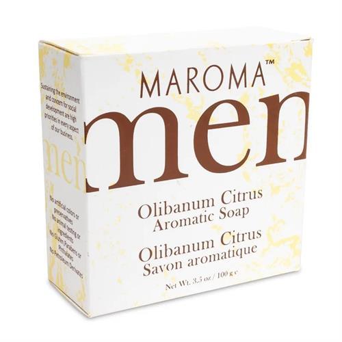 Jabón para Hombre Olíbano y Cítricos Maroma 100g
