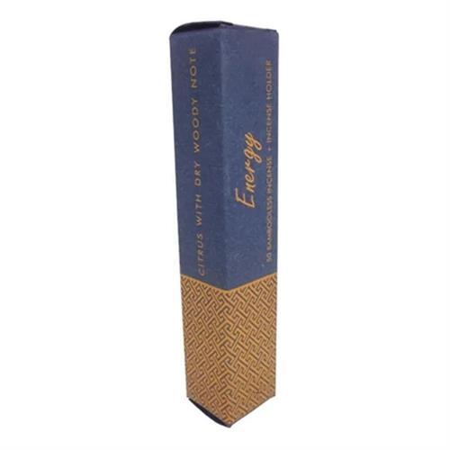Incienso de Hierbas sin Bambú con Soporte Energy 34g