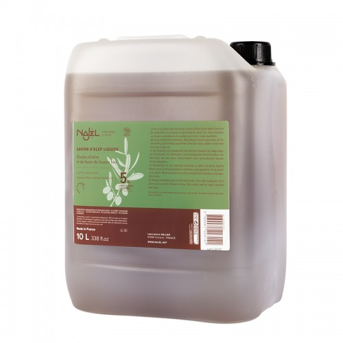 Detergente Lavadora de Alepo sin Perfume Najel 10L