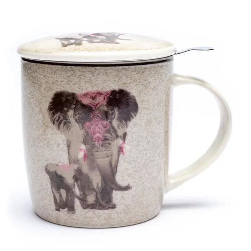 Juego de Taza de Té Elefante 400ml