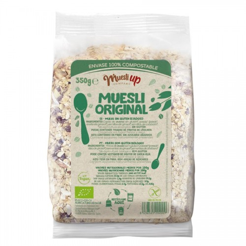 Muesli Básico Sin Azúcar Gluten Free Bio 350g