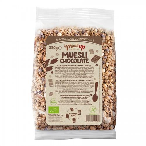 Muesli con Chocolate y Coco Gluten Free Bio 350g