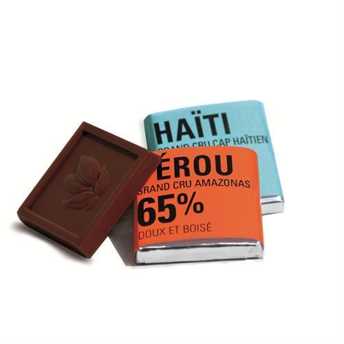 Caja 400 Chocolatinas Negras 65% y 72% Ethiquable Bio 1600g