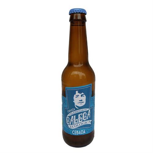 Cerveza de Cebada Artesana Celebridade Galega Bio 330ml