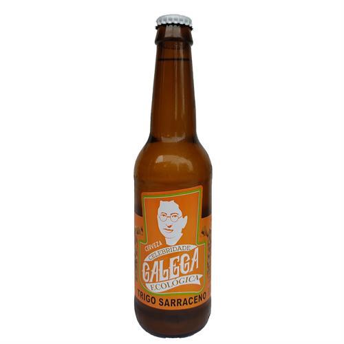Cerveza de Trigo Sarraceno Artesana Celebridade Galega Bio 330ml