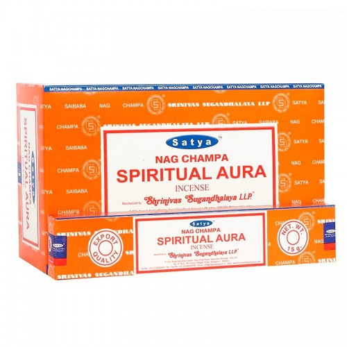 Incienso Limpieza del Aura Satya Sai Baba 15g