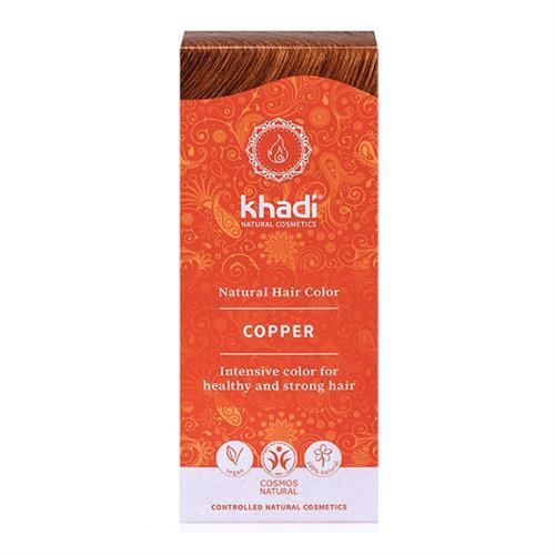 Tinte Natural Henna Color Cobre Khadi 100g