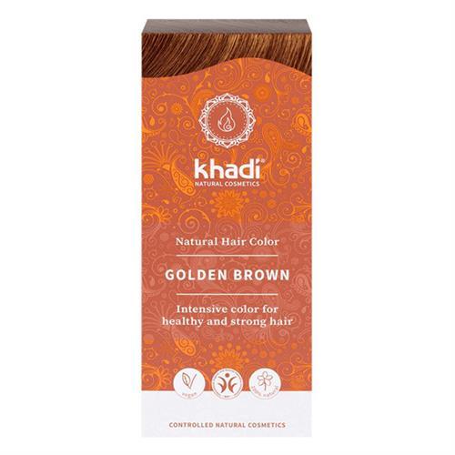 Tinte Natural Henna Color Castaño Dorado Khadi 100g